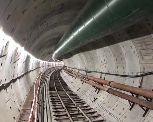 隧道螺旋风筒案例